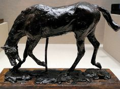 Edgar Degas - Horse with Head Lowered at National Art Gallery Washington DC