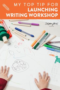 Need some advice for launching writing workshop in a kindergarten, first grade, or second grade classroom? Head on over to read my #1 top tip for kicking off writer's workshop in a primary classroom! You can even grab a free anchor chart in the post and see what my writing workshop looked like and sounded like.