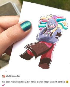 That's something we haven't seen with bismuth...