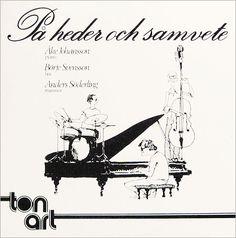 Jazz i Sverige 1970 - sällsynta rekord skivomslag