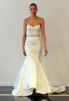 Simone Carvalli Wedding Dress   blog.theknot.com