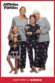 Your family will look awesome in their matching Jammies For Your Families Home For The Holidays pajama sets. Diy Christmas Gifts, Christmas Fun, Christmas Outfits, Christmas Parties, Xmas, Holiday Pajamas, Family Christmas Pajamas, Holiday Fashion, Holiday Style