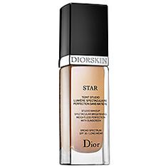 Dior - Star Fluid Foundation SPF 30  #sephora 225 reais