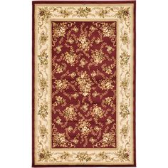 Found it at Wayfair - Versailles Red Area Rug