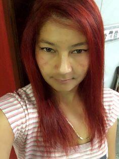 Adoro meu vermelho