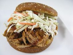 easy pulled pork in the slow cooker
