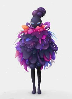 lollipop queen by zutto, via Behance