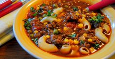 My Granddaughter called the other day and asked if I would send her the family Macaroni Soup recipe, which I did of course. I hadn't made th...