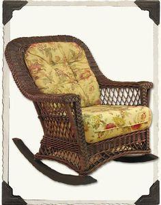Bay Isle Home Rosado Rocking Chair Fabric: Verlaine Walnut, Color: Brownwash Wicker Rocker, Wicker Couch, Wicker Headboard, Wicker Shelf, Wicker Bedroom, Wicker Table, Wicker Furniture, Wicker Mirror, Wicker Tray