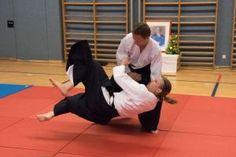 Aikidotraining in Linz / Urfahr (oberösterreich) mit Markus Herzl und Heidi Dirnberger - Mai 2016:Kokyonage