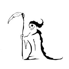Simple Reaper Tattoo by Koonsta