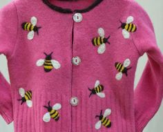 needle-felted sweater
