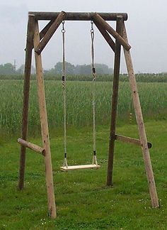 I like this swing for Zo. I could even grow morning glories or something up the sides.