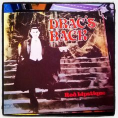 """Beautiful #BelaLugosi #Dracula at #RedLipstique #album #albumcover #Dracsback #halloweenmusic  #Halloween """