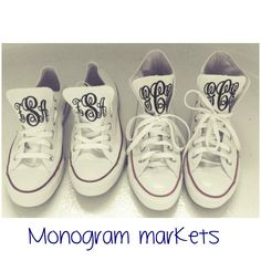 Monogrammed Converse ROCK!!!!