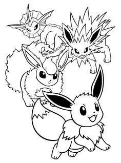Eevee Pokemon Coloring Page. Eevee Pokemon Coloring Page. Cute Eevee Pokemon Coloring Pages Pokemon Coloring Pages Pokemon Coloring Sheets, Pikachu Coloring Page, Cat Coloring Page, Flower Coloring Pages, Cartoon Coloring Pages, Mandala Coloring Pages, Coloring Pages To Print, Coloring Book Pages, Printable Coloring Pages