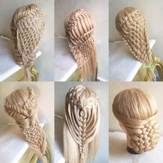 All woven braids I've done ❤️