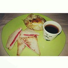 Morning breakfast 🍳🌸