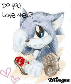 Of course i love you. You adorable baby werehog you! i seriously wanna take him home w/ me. Shadow The Hedgehog, Sonic The Hedgehog, Sonic Underground, Sonic Unleashed, Hedgehog Movie, Weird And Wonderful, A Team, Smurfs, Character Art