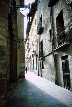 Old Town Zaragoza, Spain