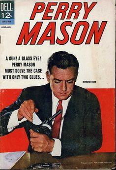 Perry Mason Dell comic book, 1964