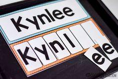 Name Activities for Kindergarteners | Mrs. Jones' Creation Station