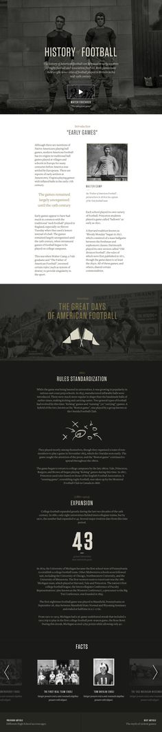 """""""History Of Football"""" case study by Ludovic Riffault"""