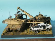 Challenger 2 Pack Lift - BATUS The Warrior 513  #arv #challenger #recovery…