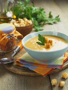 veloute me portokali faki anoigma Lowest Carb Bread Recipe, Low Carb Bread, Veggie Soup, Greek Recipes, Keto Snacks, Keto Dinner, Food Art, Healthy Living, Clean Eating