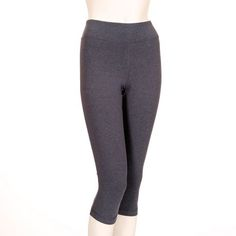Athletic Works Women's Cotton Blend Capri Legging Capri Leggings, Bleach, It Works, Walmart, Shell, Iron, Sweatpants, Bike, Spandex