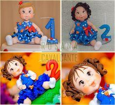 Mega Bebês » Topo de Bolo Personalizado para Festa Infantil