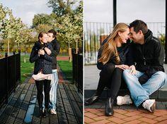 Engagement photos in autumn