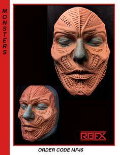 MF45 Latex, Prosthetic Makeup, Fx Makeup, Makeup Designs, Creature Design, Body Painting, Creative Art, Sculpting, Masks