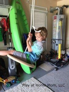 DIY Travel Swing
