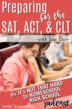 Jean Burk is an expert on everything you need to know about the SAT, ACT,