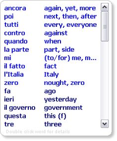 Learn 1000s of Common Italian Words and Expressions with Declan's ...
