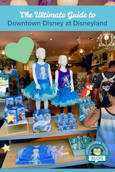 Ultimate Guide to Downtown Disney at Disneyland - Pinterest Header Downtown Disney Disneyland