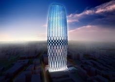 Dorobanti Tower by Zaha Hadid Architects. Bucharest, Romania
