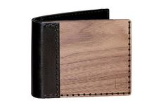 Nox Virilia wallet for men made of wood and leather