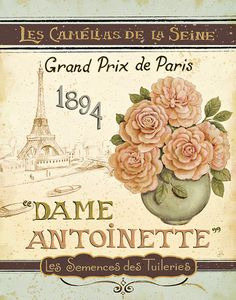 French Seed Packet II Art Print at AllPosters.com
