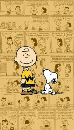 Charlie Brown and Snoopy wallpaper Snoopy Love, Charlie Brown Und Snoopy, Snoopy And Woodstock, Iphone Cartoon, Cartoon Wallpaper Iphone, Disney Wallpaper, Wallpaper Backgrounds, Wallpaper Desktop, Trendy Wallpaper