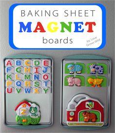 Baking Sheet Magnet Boards