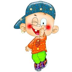Funny Cartoon Baby Clip Art Images Are On A Transparent Background