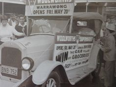 Opening of Woolworths, Warrawong