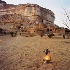 Serene retreat in the desert with the option of open air rooms -Siwa Oasis, Egypt #jetsettercurator
