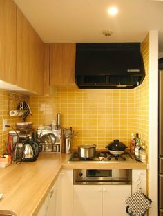 2×4   Mango, bright small kitchen