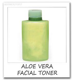natural DIY Aloe vera Toner