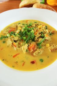 Thai Red Curry, Food And Drink, Yummy Food, Pasta, Ethnic Recipes, Koti, Diy, Crafts, Gourmet