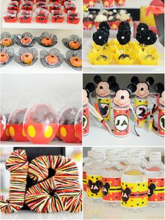 Mickey Inspired Birthday Party Food Ideas