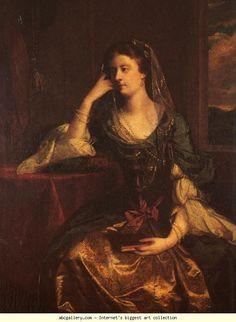 Sir Joshua Reynolds. Emily, Duchess  of Leinster.